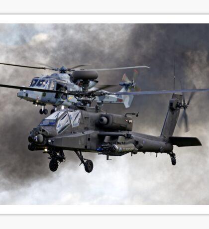 AgustaWestland Apache AH1 & AW159 Wildcat HMA2 Helicopters Sticker