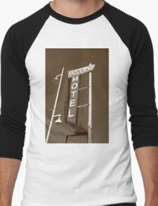 Route 66 - Aztec Motel Men's Baseball ¾ T-Shirt