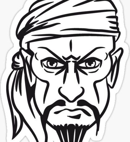 Pirat kopftuch  Sticker