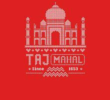 Taj Mahal India 8Bit Sweater Style Unisex T-Shirt