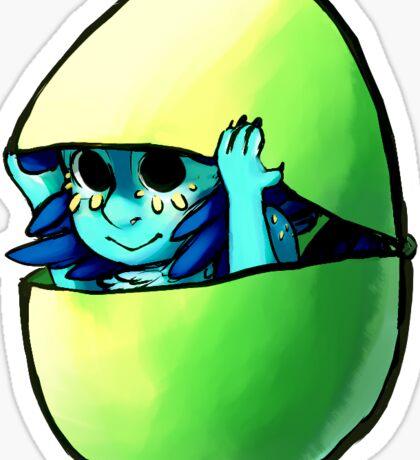 Easter Egg Lapeep Sticker