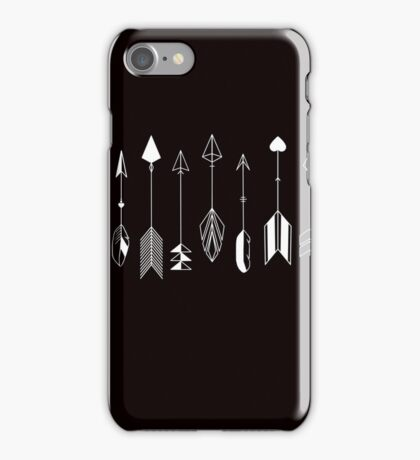 Be Brave Little Arrow (White)  iPhone Case/Skin