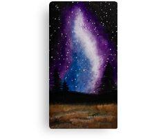 Galaxy Landscape Canvas Print