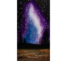 Galaxy Landscape Photographic Print