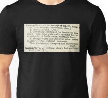 Trumpery Definition Unisex T-Shirt