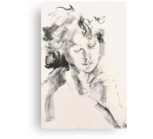 Lavinia - Candle Light Canvas Print