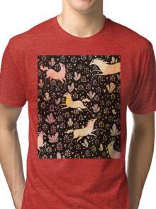 Marshmallow ponies Tri-blend T-Shirt