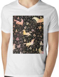 Marshmallow ponies Mens V-Neck T-Shirt