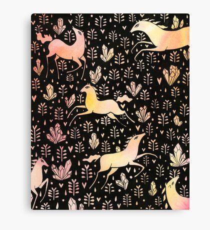 Marshmallow ponies Canvas Print