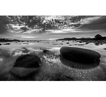 High contrast at bude Photographic Print