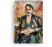 The Bass Player Canvas Print