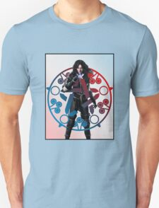 Yennefer of Vengerberg and her absidian star. Unisex T-Shirt