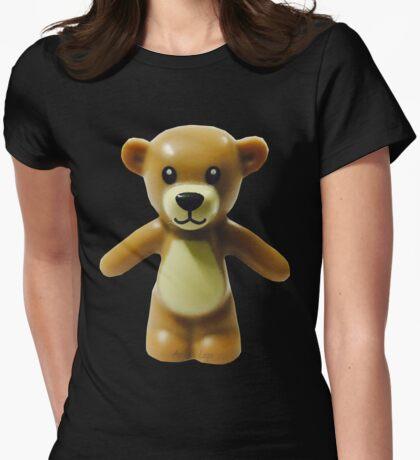 Lego Teddy Bear Womens Fitted T-Shirt