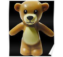 Lego Teddy Bear Poster