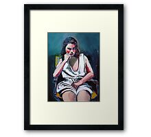 Portrait of a Young Girl - Alexandra Framed Print