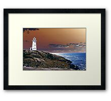 An Enchanting Outlook Framed Print