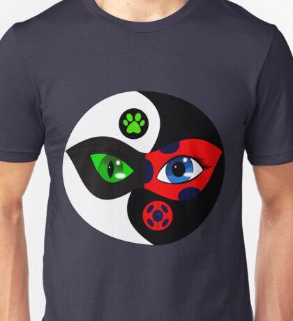 Miraculous Ladybug Yin Yang Unisex T-Shirt
