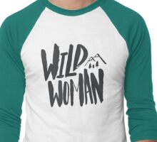 Wild Woman x Typography Men's Baseball ¾ T-Shirt