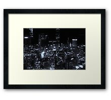 Welcome to the Noirborhood Framed Print