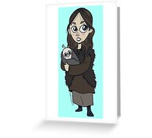 Gilly Greeting Card