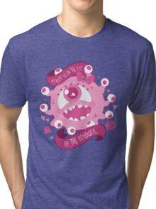 Kawaii Beholder Tri-blend T-Shirt