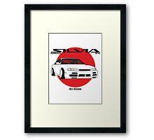 Nissan Silvia S14 Kouki Framed Print