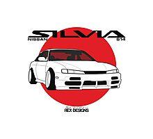 Nissan Silvia S14 Kouki Photographic Print