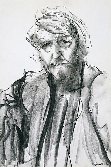 David Boyd (Black Pastel) by Stephen Gorton
