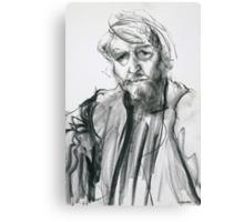 David Boyd (Black Pastel) Canvas Print