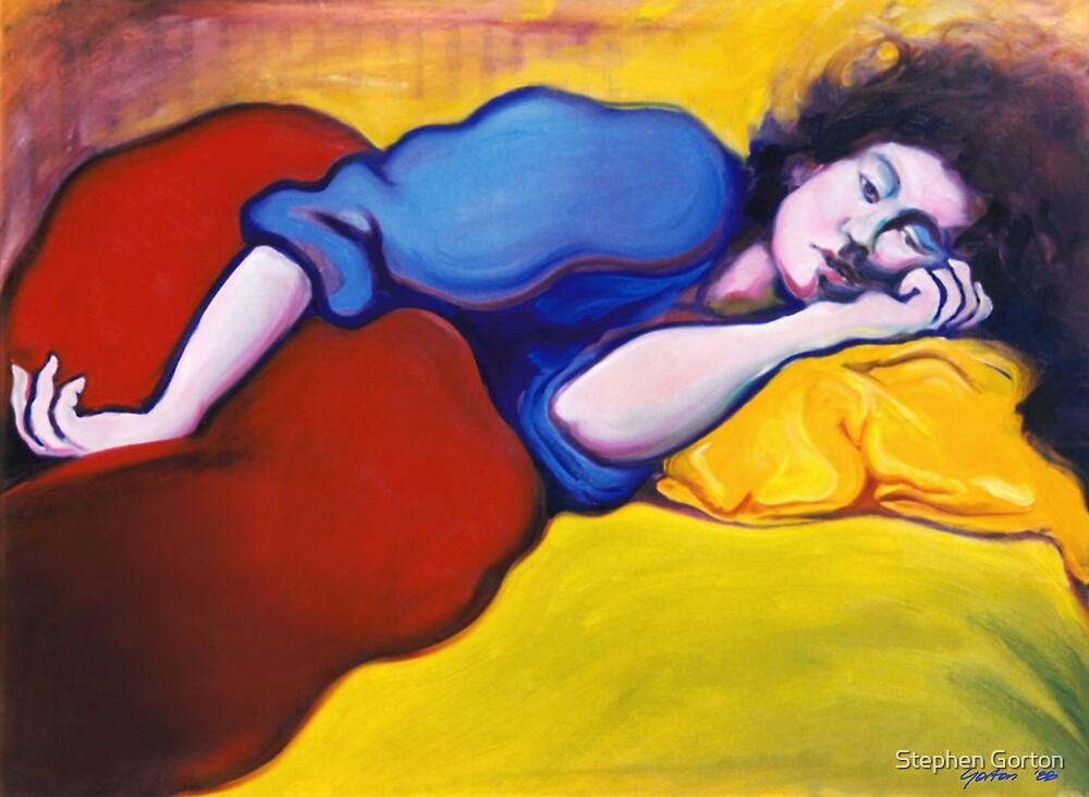 Annie Waking by Stephen Gorton