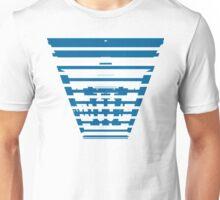 Ocean Blue Blocks Unisex T-Shirt