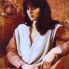 Portrait of the Bride - Maria de Casa Anita by Stephen Gorton