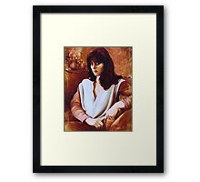 Portrait of the Bride - Maria de Casa Anita Framed Print