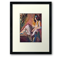 The Jazz Singer Framed Print