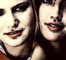 Stacy & Linda Sticker