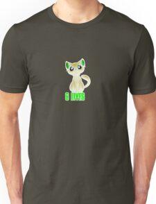 cute baby kitten black cat Unisex T-Shirt