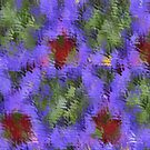 Floral Abstract by Marie Sharp