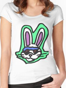 Zef - Bunny Women's Fitted Scoop T-Shirt