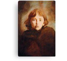 Girl in Venice Canvas Print