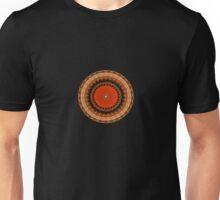 Light Waves Mandala Unisex T-Shirt