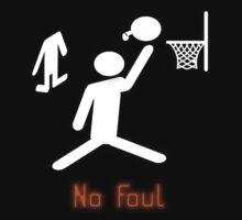 No Foul - basketball Kids Clothes