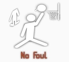 No Foul - basketball Kids Clothes