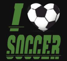 I love soccer One Piece - Short Sleeve