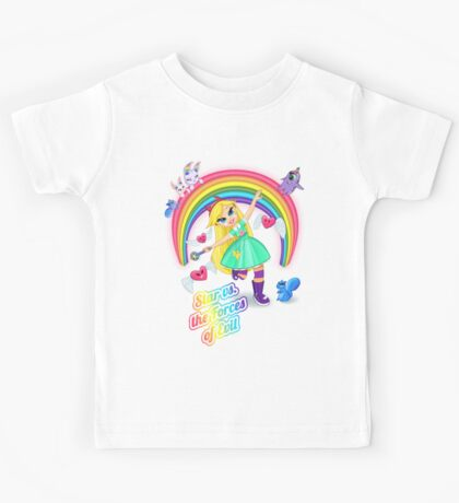 Star vs. the Forces of Lisa Frank Kids Tee