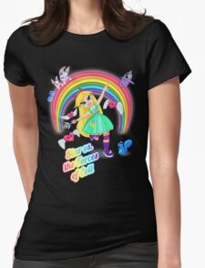 Star vs. the Forces of Lisa Frank Womens Fitted T-Shirt