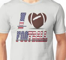 I love football Unisex T-Shirt