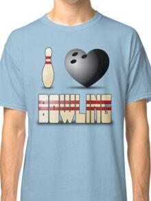 I love bowling - ball Classic T-Shirt