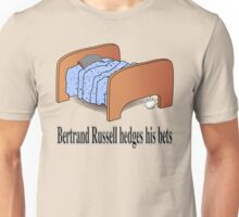 Bertrand Russell hedges his bets Unisex T-Shirt