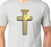 Jesus: brb ... lol! Unisex T-Shirt