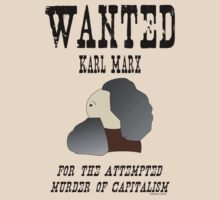 Wanted: Karl Marx. For the attempted murder of capitalism by pokingstick